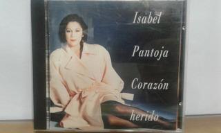 Isabel Pantoja. Corazón Herido Cd Original Usado P71 Kk4