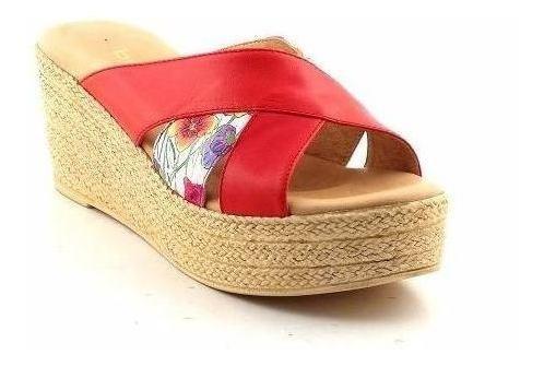 Zapato Cuero Mujer Briganti Zueco De Vestir - Mcsu48014 Vp