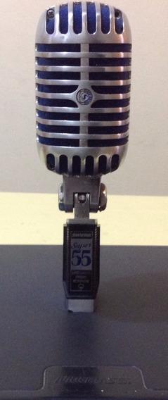 Microfone Original Shure Sm55 Seminovo