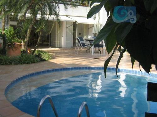 Imagem 1 de 12 de Casa Residencial À Venda, Balneário Praia Do Pernambuco, Guarujá - Ca0398. - Ca0398