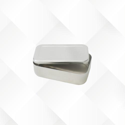 Imagem 1 de 1 de Marmita Retangular Alumínio Merendeira Alta 0,950l Arary