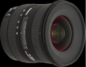 Lente Sigma Ex 10-20mm F/4-5.6 Dc Hsm Para Canon, De Barbada