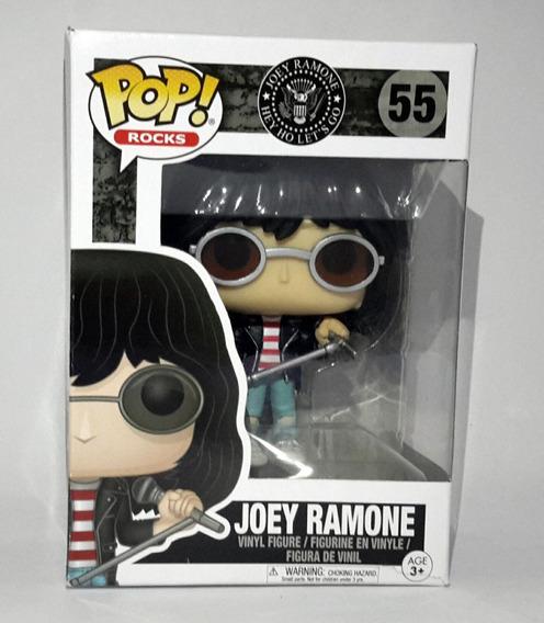 Boneco Figure Joey Ramone Funko Pop! 55 Em Vinil