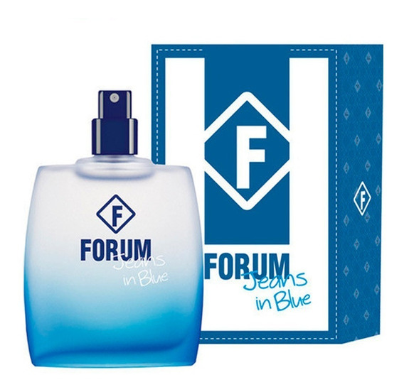 Perfume Forum Jeans In Blue 50 Ml - Original E Lacrado