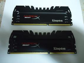 Kit Memória Hyperx Beast 1866 8gb (2x4gb) Funcionando 100%