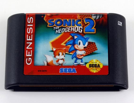 Sonic The Hedgehog 2 Original Sega Mega Drive - Genesis