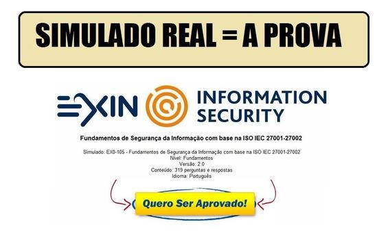 Simulados Para A Prova Exin Iso 27002 Foundation - Português