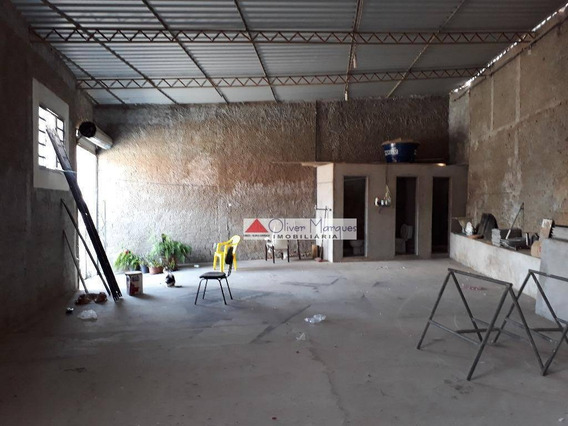 Salão Para Alugar, 120 M² Por R$ 2.500,00/mês - Jaguaré - São Paulo/sp - Sl0082