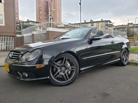 Mercedes Benz Clk 55 Amg Convertible Automatico Secuencial