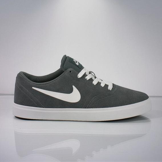 Tênis Nike Sb Check - Grey/white 39