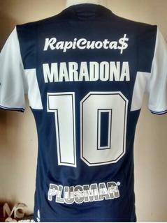 Camiseta Gimnasia Gelp Le Coq Sportif 2018 Azul +10 Maradona