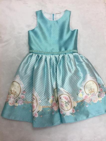 Vestido Estampado Listrado Petit Cherie 10.13.31452