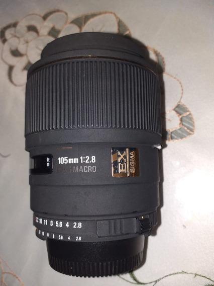 Lente 105mm F2.8 Macro