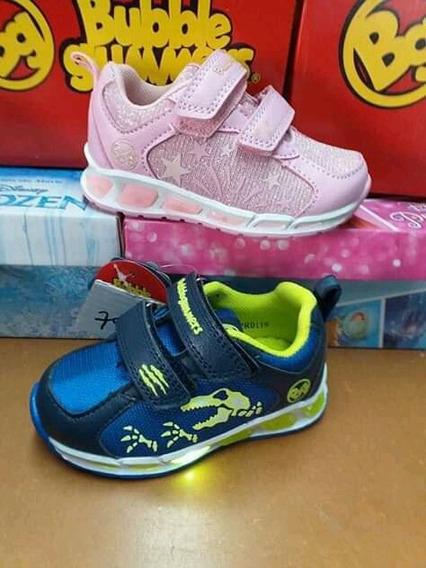 Zapatos Bubble Gummers Para Niño Y Niña.