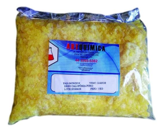 1kg Breu Calofônia Puro (cosmético) Mais Barato Do Ml