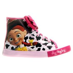 Ténis Toy Story Personagem Jessie Meninas Pink - Tamanho 24