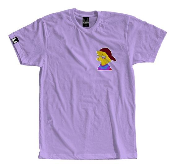 Camiseta Masculina Lisa Swag Feminina Simpson Tumblr