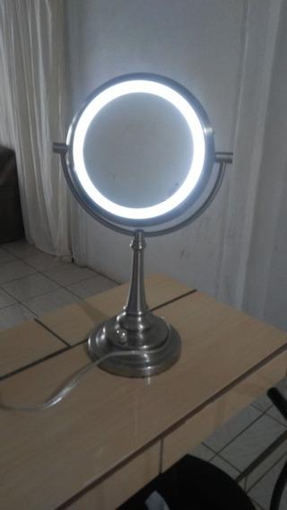 Espejo Luz Led Grande Tamñ Antebrazo