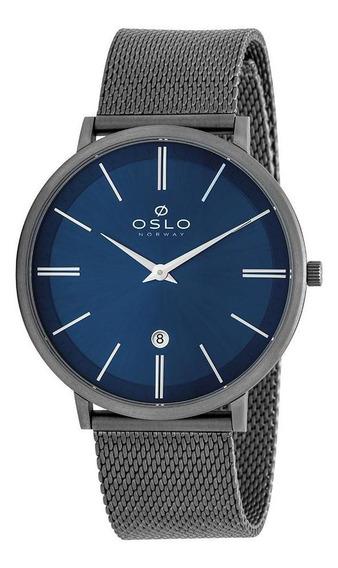 Relógio Oslo Masculino Analógico Ombttsor0001 Titaniun