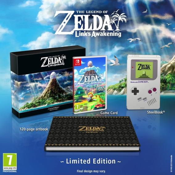 The Legend Of Zelda - Link Awakening Limited Edition Novo!