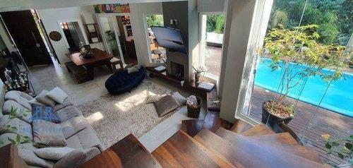 Casa Com 3 Dormitórios À Venda, 230 M² Por R$ 2.400.000,00 - Itacorubi - Florianópolis/sc - Ca0250