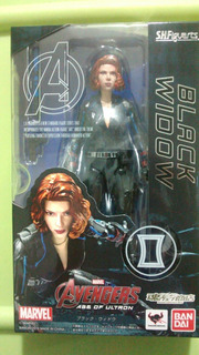 Avengers - Sh Figuarts- Black Widow, Age Of Ultron