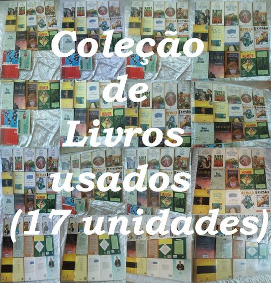 Venda - 17 - Livros - Diversos - Coleção - Lote - Total