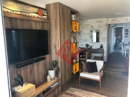Imagem 1 de 24 de Apartamento À Venda, 120 M² Por R$ 1.350.000,00 - Edifício Novare - Barueri/sp - Ap1046