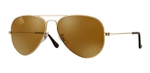 Oculos De Sol Aviador Unissex 70%off Pronta Entrega
