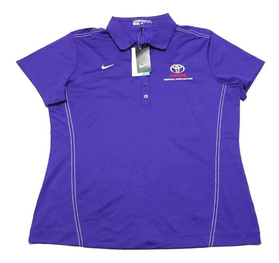 Chomba Golf Nike Mujer Toyota Talle Xl Color Violeta
