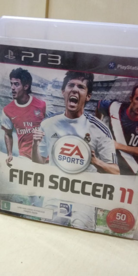 Fifa Soccer 11 Ps3 Mídia Física