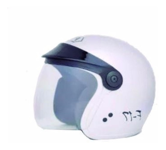 Capacete Fly F-17 Branco