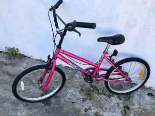 Bicicleta Rodado 14, Color Rosa
