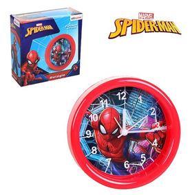 Relógio De Mesa / Despertador De Plastico Homem Aranha/spide