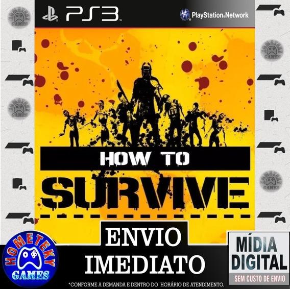 How To Survive - Psn Ps3 Pronta Entrega