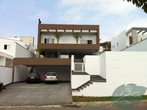 Imagem 1 de 15 de Casa Com 4 Dormitórios À Venda, 400 M² Por R$ 2.660.000 - Golf Village - Granja Viana - Carapicuíba/sp - Ca0512