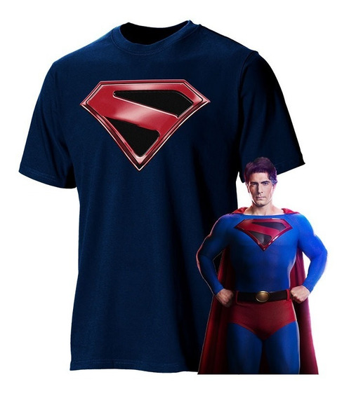 Playera Superman Crisis En Tierras Infinitas Brandon Routh 2