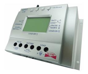 Controlador De Carga Solar Para Bateria Mppt 80a