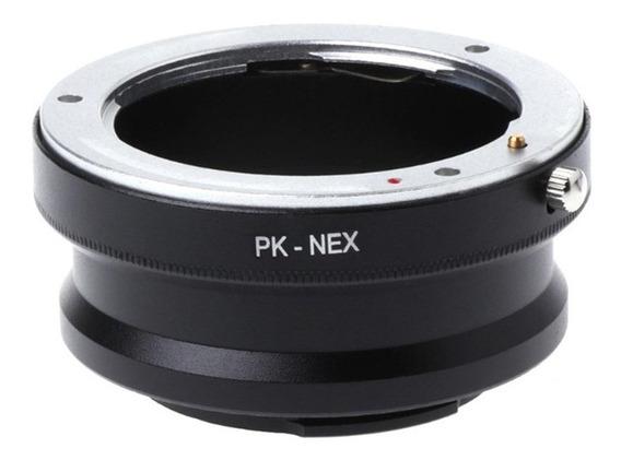 Adaptador Pk-nex Lente De Câmera Adaptador Para Pentax Pk K-