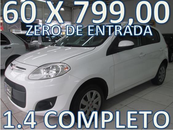 Fiat Palio 1.4 Completo Zero De Entrada + 60 X 799,00 Fixas