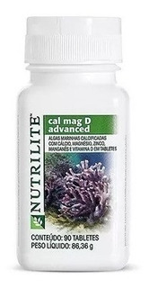 Nutrilite Cal Mag D Advanced Calcio E Magnésio 90cp Amway