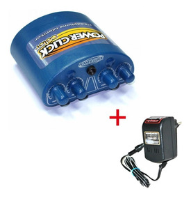 Amplificador Fone De Ouvido Power Click Color Stereo + Fonte