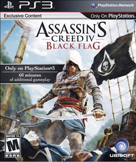 Assassins Creed Iv Black Flag (mídia Física Em Pt Br) - Ps3