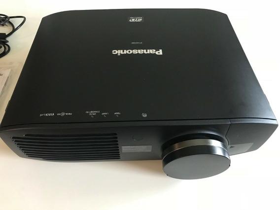 Projetor Panasonic Ptae 7000 Com 8 Óculos 3d
