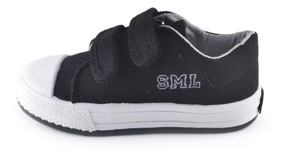 Zapatilla Colegial Abrojo Lona Small Shoes 4 Variantes Envío Gratis