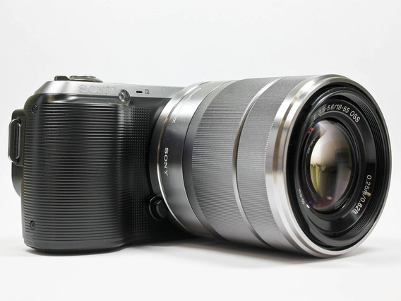 Câmera Sony Nex C3 + Bolsa + Adaptador