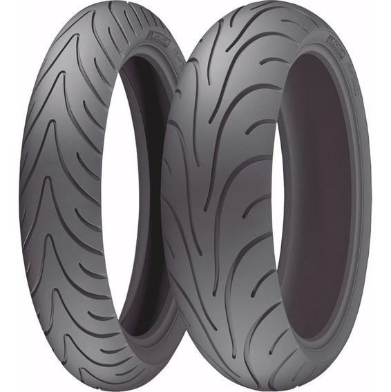 Par Pneu 120/70-17 + 190/50-17 Michelin Pilot Road 2 Cb 1000