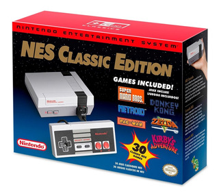 Consola Nes Classic Edition Mini Nueva+msi