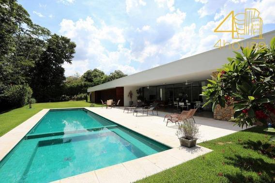 Casa Com 5 Dormitórios À Venda, 560 M² Por R$ 3.900.000 - Fazenda Vila Real De Itu - Itu/sp - Ca0405