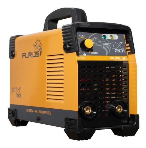 Fix201 200 Amp Soldador Inversor 200 A 110/220 Bi Voltaje